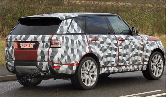 Был представлен первый тизер нового Range Rover Sport