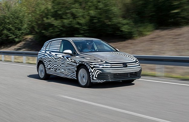 VW Golf обновленного поколения приступил к заключительным тестам