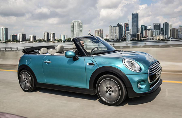Новый кабриолет Mini покажут в Токио в конце октября