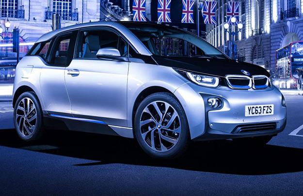 Обновленный BMW i3 получит комплект новых литий-ионных батарей
