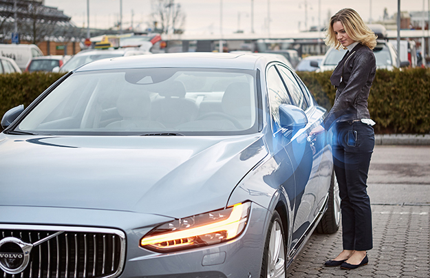 Volvo первой представит автомобиль без ключа (видео)