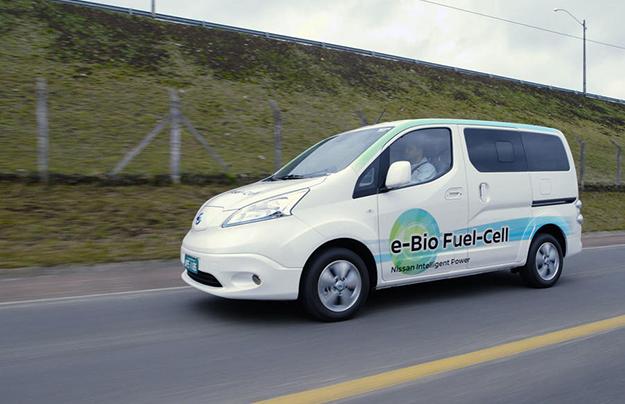 Ниссан выпустил 1-ый автомобиль натвердооксидных элементах