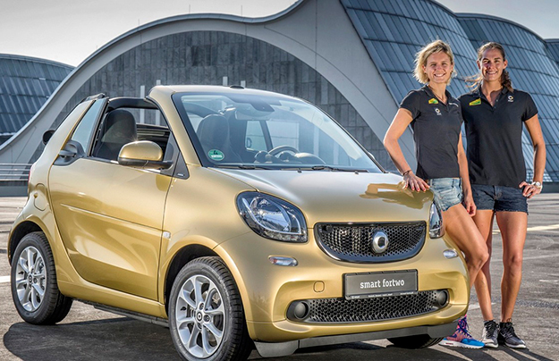 Неменее 1.600 авто Смарт собрались совместно наежегодном мероприятии «Smart Times»