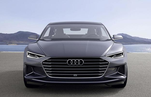 Электрический седан Ауди A9 e-tron проедет 500км отодной зарядки