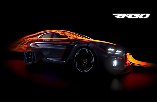 Встолице франции дебютирует «заряженный» хот-хэтч Хендай RN30 Concept