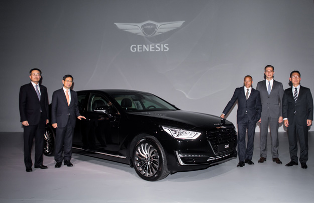 Премиальный бренд Хюндай выходит на русский рынок сседаном G90