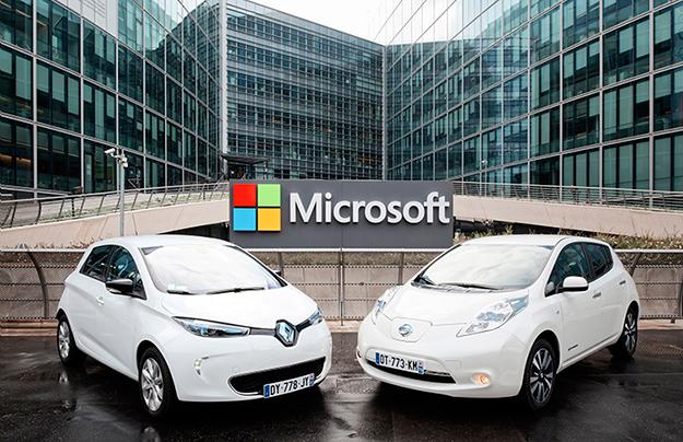 Renault-Nissan иMicrosoft разрабатывают «умный» автомобиль