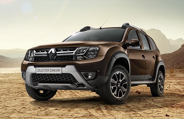 Рэно Duster получил новое выполнение Dakar Edition