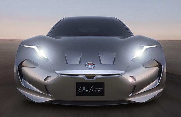 Fisker EMotion— новый электромобиль изсоедененных штатов