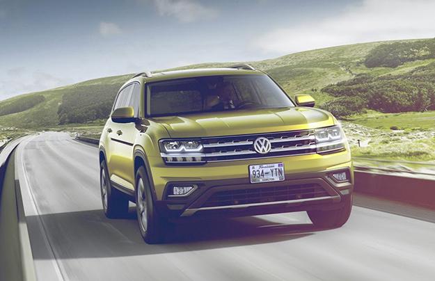 Семиместный кроссовер VW Atlas появится в Российской Федерации в 2017