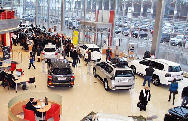 Продажи легковых автомобилей в Российской Федерации в 2016г упали на11%