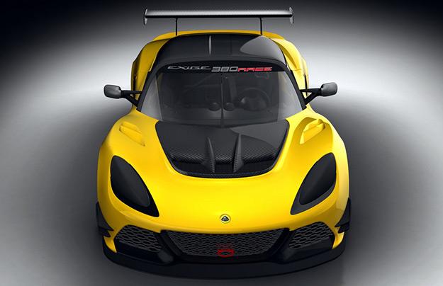 Лотус представила новый гоночный автомобиль