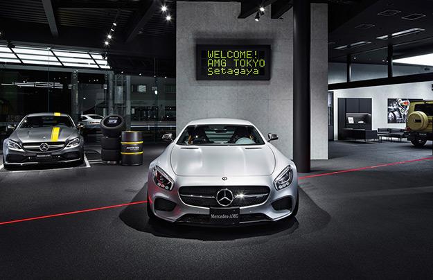 ВТокио открылся салон Mercedes-AMG