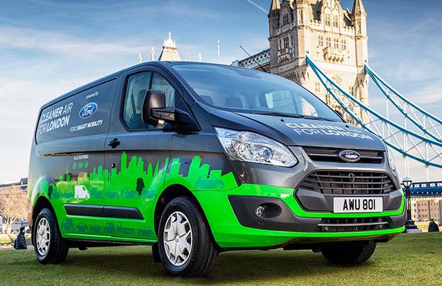 Форд испытает коммерческие «гибриды» на дорогах Лондона