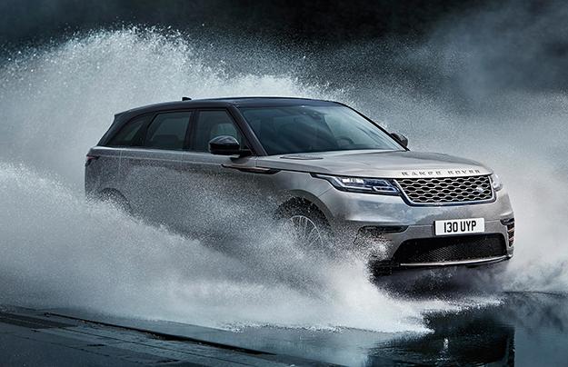 Больше гламура: публике показали первое фото Range Rover Velar