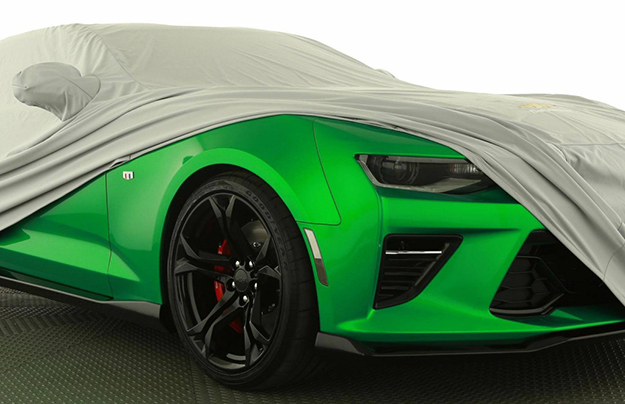 Шевроле везет вЖеневу спорткар Camaro Track Concept