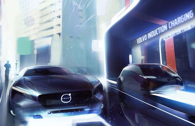 1-ый электромобиль Вольво выйдет в 2019-ом году