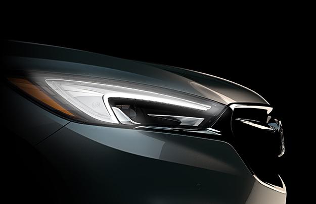Размещен тизер нового Buick Enclave