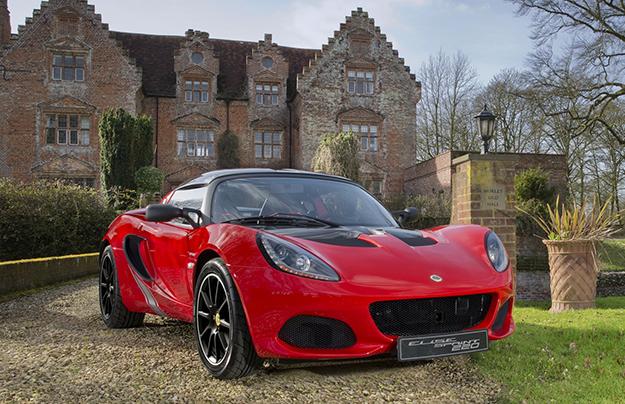Лотус презентовал 800-килограммовый спорткар Elise Sprint