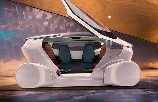 Показан концептуальный автомобиль NEVS InMotion от сегодняшних хозяев Saab
