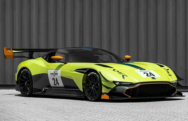 Астон Мартин Vulcan получил новый аэродинамический обвес