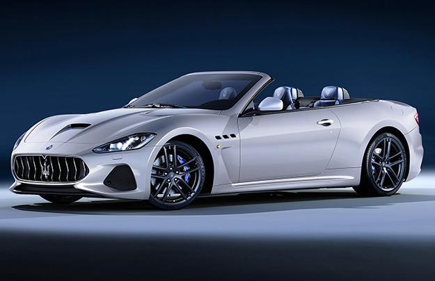Maserati обновила кабриолет GranCabrio class=