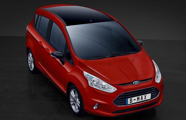 Кроссовер Форд EcoSport сменит компактный универсал Форд B-Max