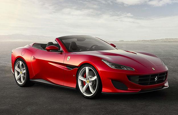 Феррари показала новый 600-сильный спорткар— Portofino
