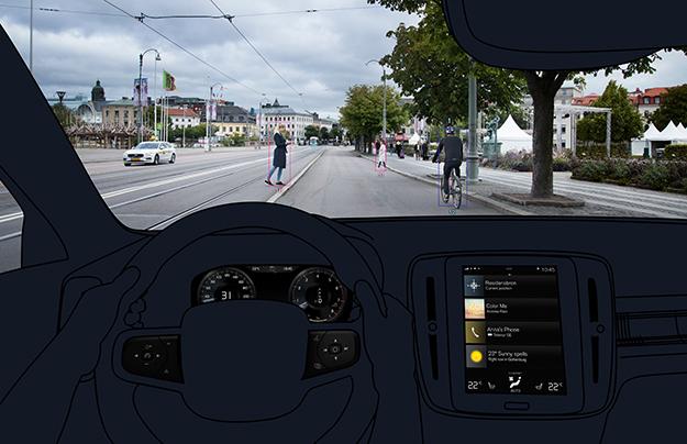 Volvo XC40 получит системы безопасности как у XC60 и XC90