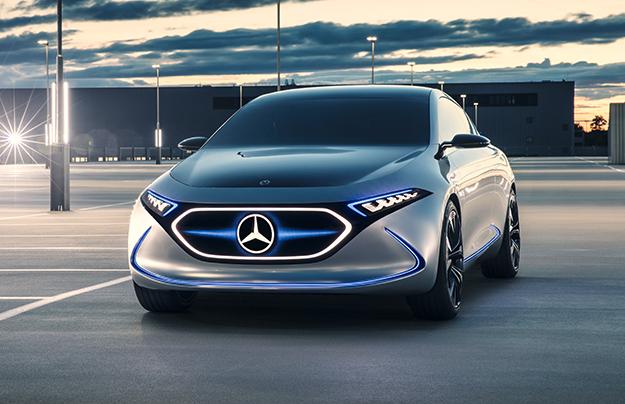 Mercedes презентовала воФранкфурте новый электрический хэтчбек EQA