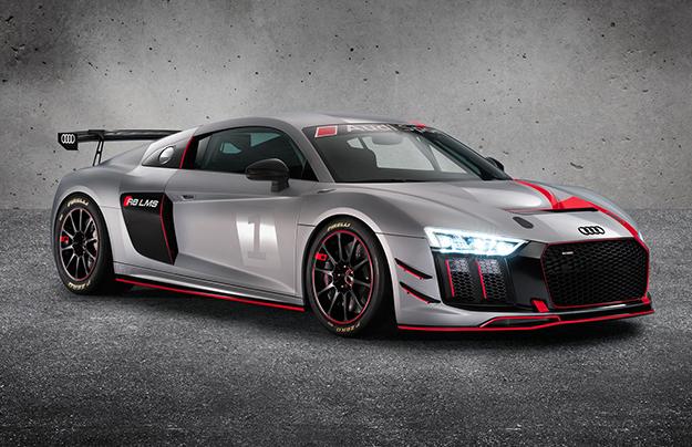 Ауди объявил европейские цены наспорткар R8 LMS GT4