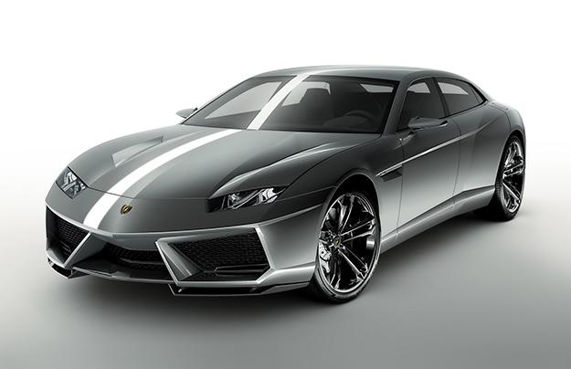 Lamborghini в 2021г. построит 1-ый всвоей истории седан