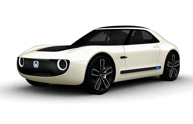 Honda выпустила электрический спорткар