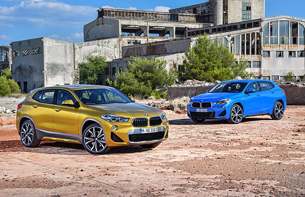 Названы рублевые цены на BMW X2