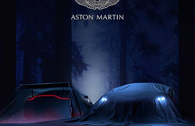 Астон Мартин натизере показала новые спорткары Vantage иVantage GTE