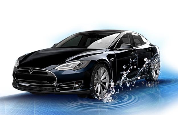 Голландцы разработали водородную версию для электрокара Tesla Model S