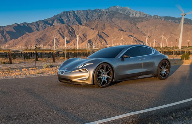 Fisker разработает сверхмощные батареи для электромобилей
