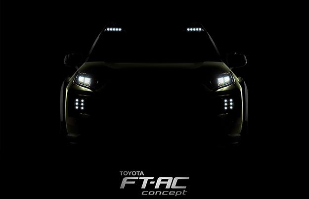 Тоёта представит новый вседорожный автомобиль Тойота FT-AC