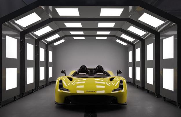 Dallara представила дорожный спорткар странсформируемым корпусом