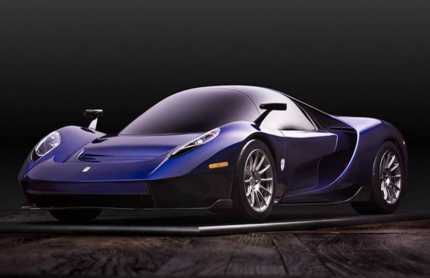Компания SCG выпустила трехместный суперкар встиле МакЛарен F1