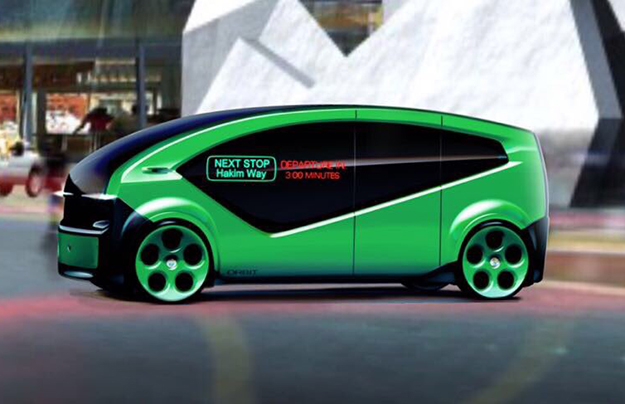 Компания Fisker рассекретила беспилотный электрический автобус Orbit