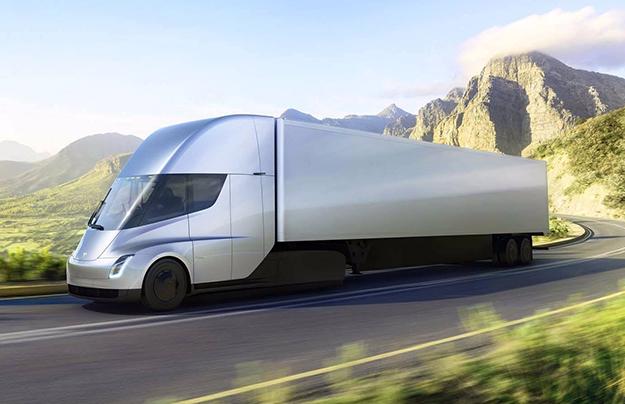 Tesla получила 1-ый заказ нановые грузовые автомобили