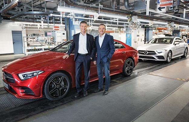 Benz CLS в Российской Федерации будет стоить от4,9млнруб.