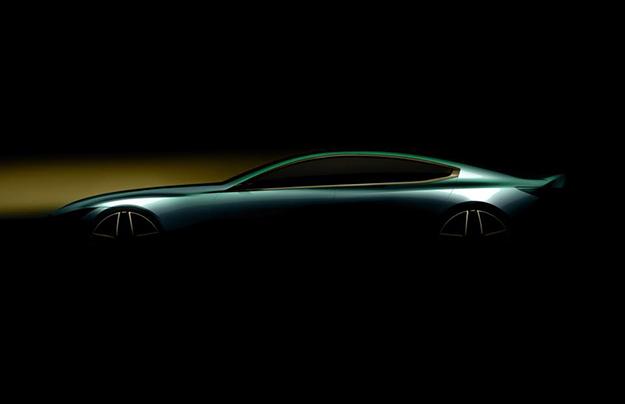 БМВ показала интригующий тизер нового БМВ 8 Series Gran Coupe