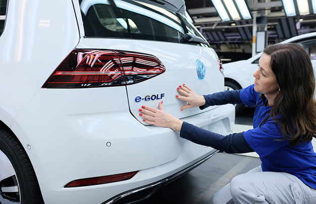 VW ждет  остановки производства вIII квартале