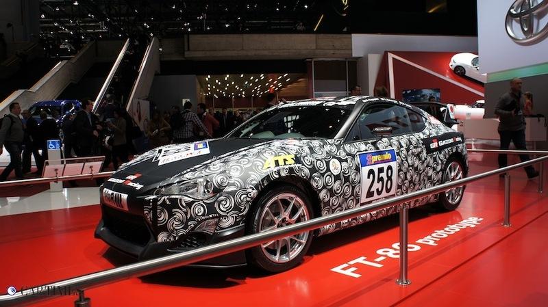 ФОТО - стенд Toyota в Женеве 2012