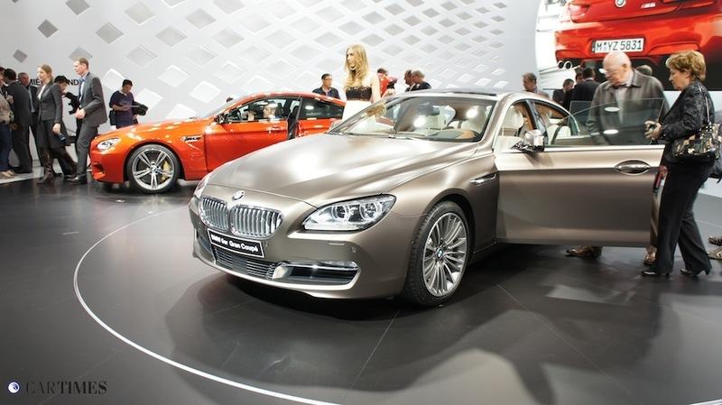 ФОТО - стенд BMW в Женеве 2012
