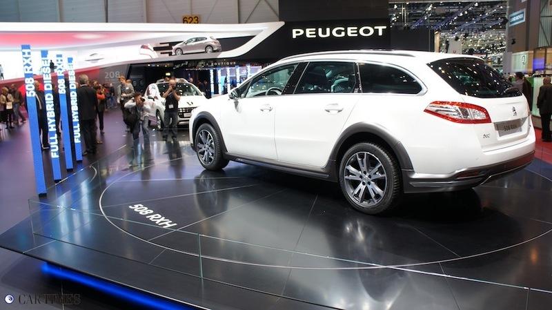 Стенд Peugeot в Женеве 2012 (ФОТО)
