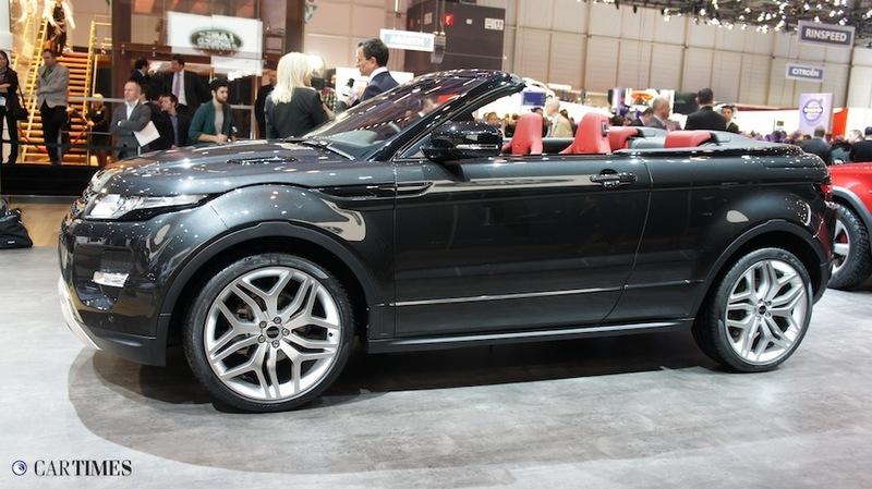Стенд Range Rover в Женеве 2012 (ФОТО)