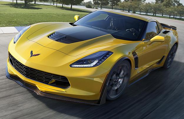Новый Corvette Z06 дебютировал в Детройте